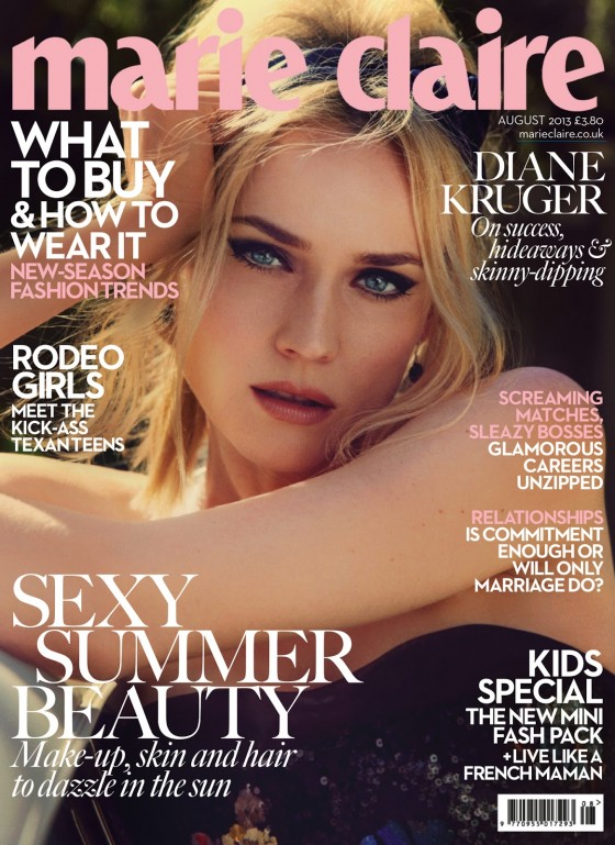 Diane Kruger – Marie Claire (UK August 2013)-01