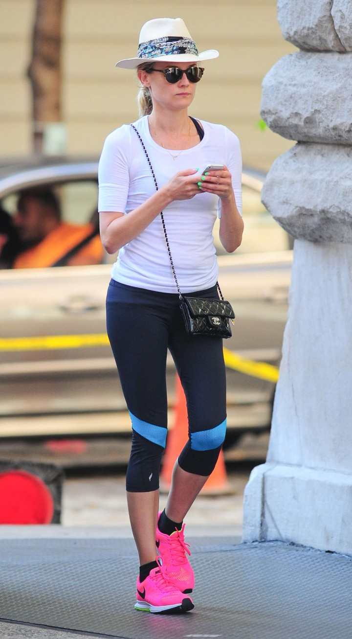Diane Kruger – Out and about in NYC