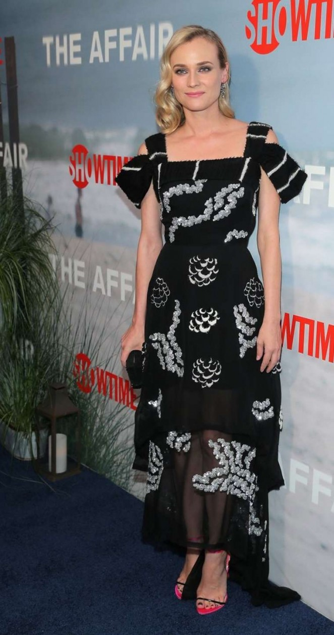 "Diane Kruger - ""The Affair on Monday"" Premiere in New York"