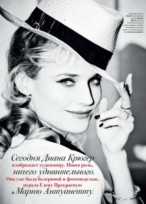 Diane Kruger: Tatler Russia -02