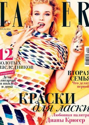 Diane Kruger: Tatler Russia -08