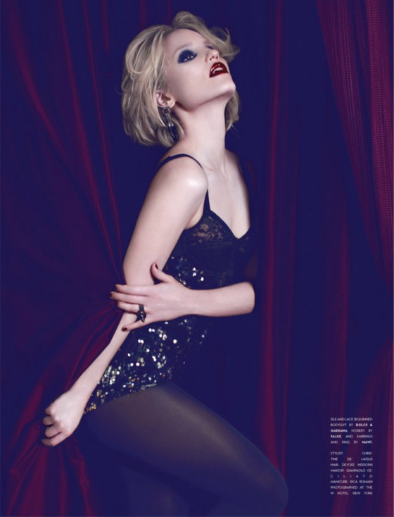Dianna Agron – Flaunt Magazine (August 2011)