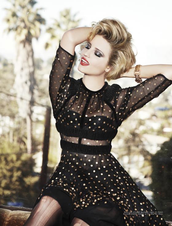 Dianna Agron: Galore Magazine 2014 -06