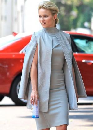 Dianna Agron Filming 'Headlock' Movie Set in Beverly Hills