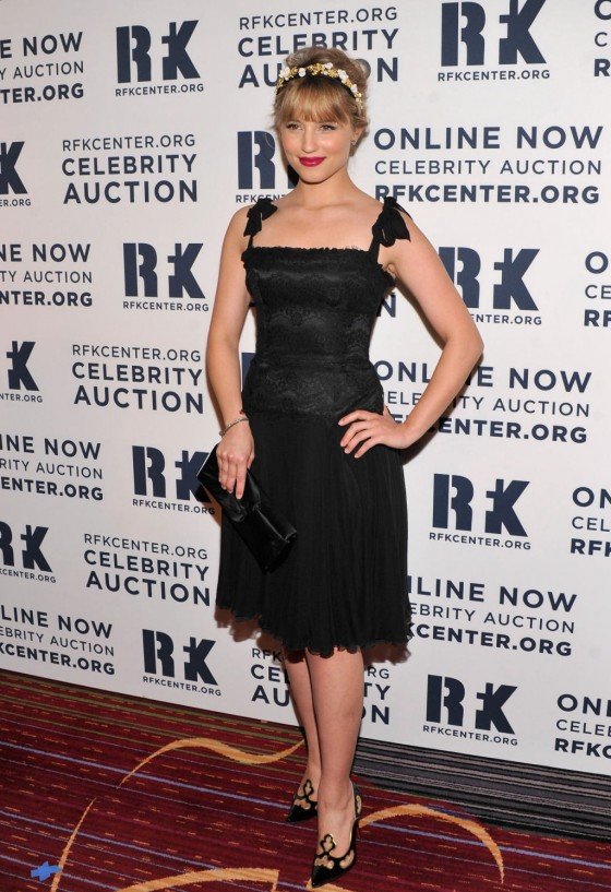 Dianna Agron - In Dress at Ripple Of Hope 2012 Gala in New York