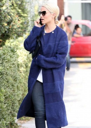 Dianna Agron - Shopping in Beverly Hills