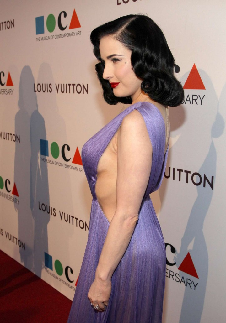 Dita Von Teese – 2014 MOCA Anniversary Gala in Los Angeles