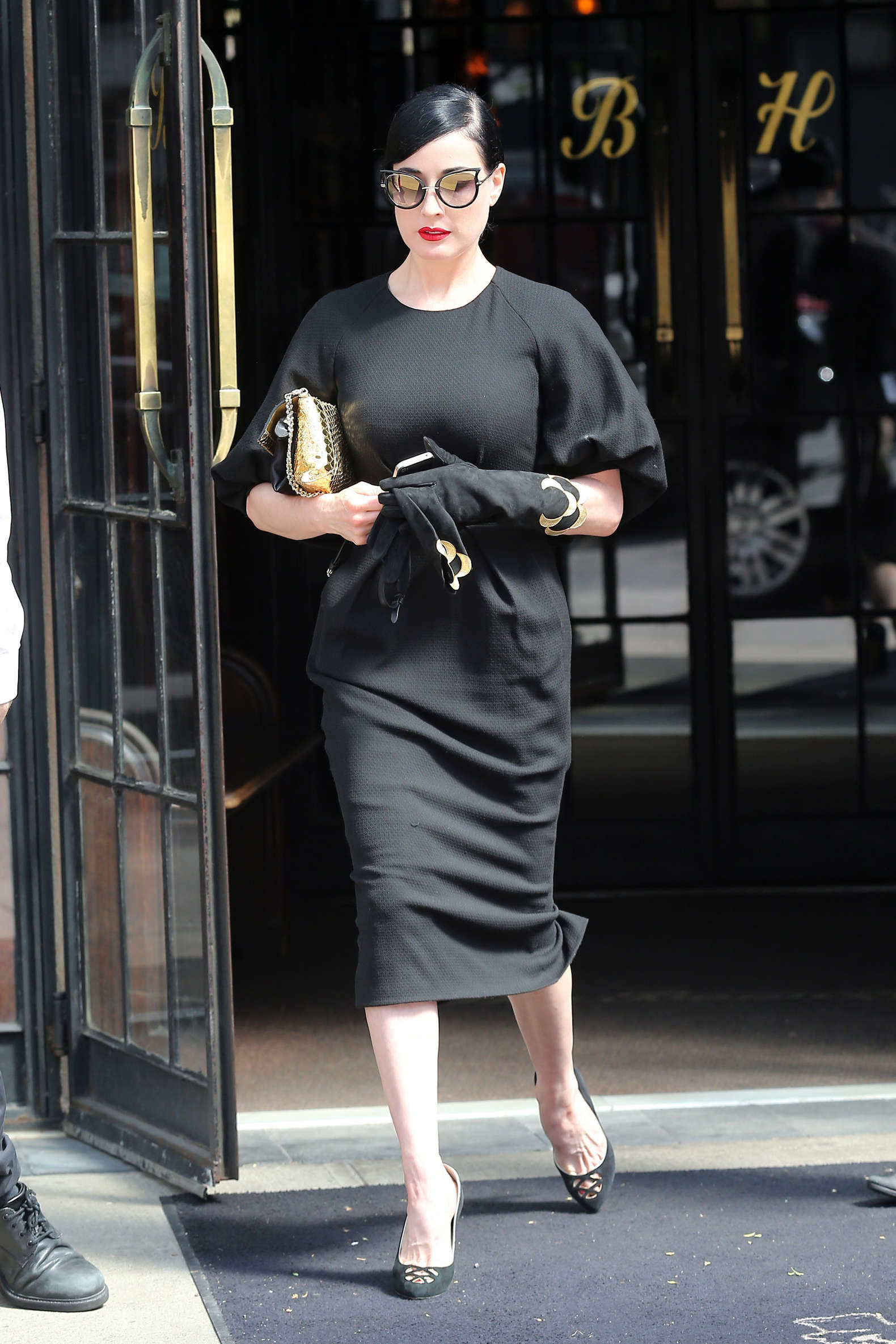 36fdad927073 Dita Von Teese at Bowery Hotel in New York City -06 – GotCeleb