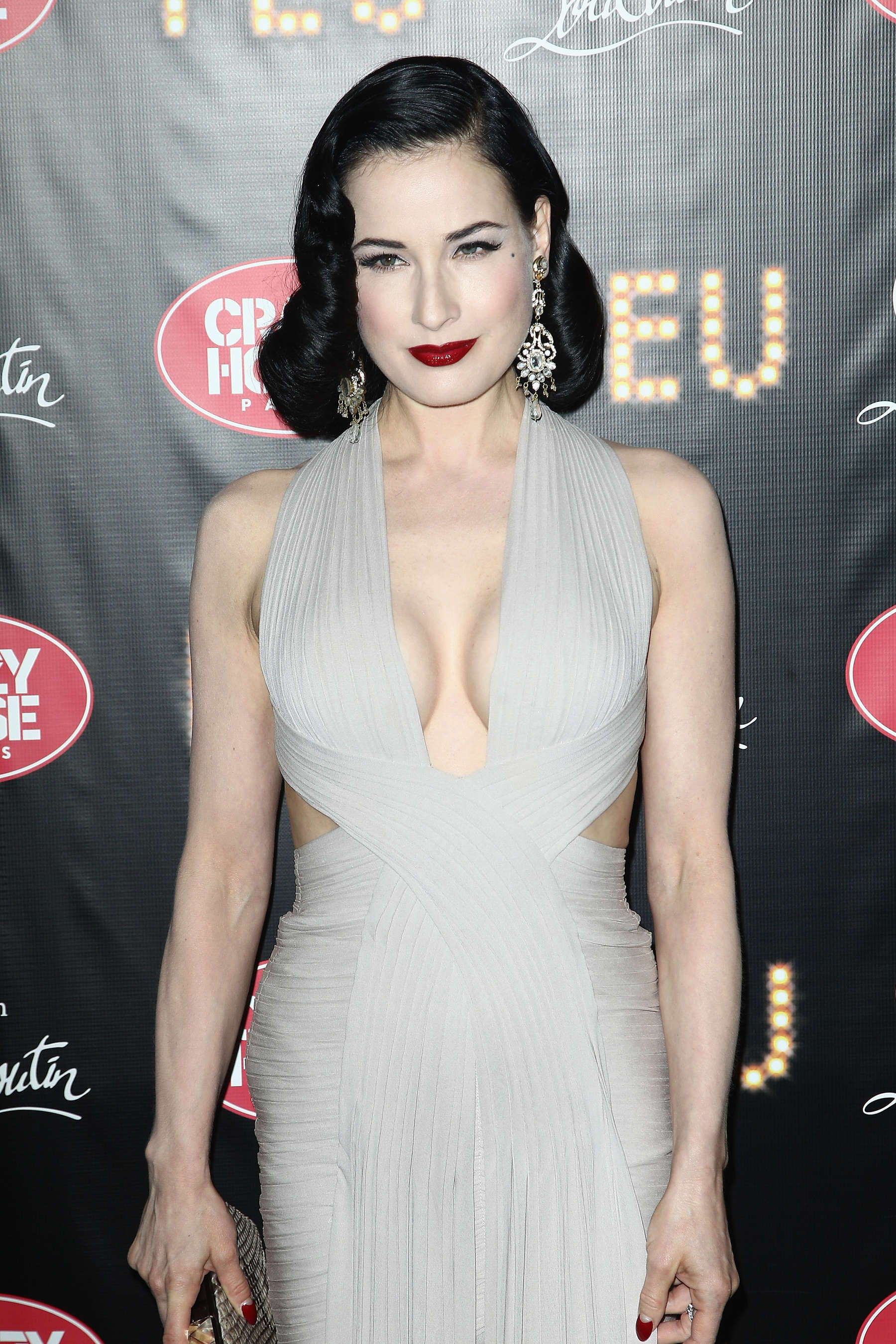 Dita Von Teese Hot At Feu Premiere 03 Gotceleb