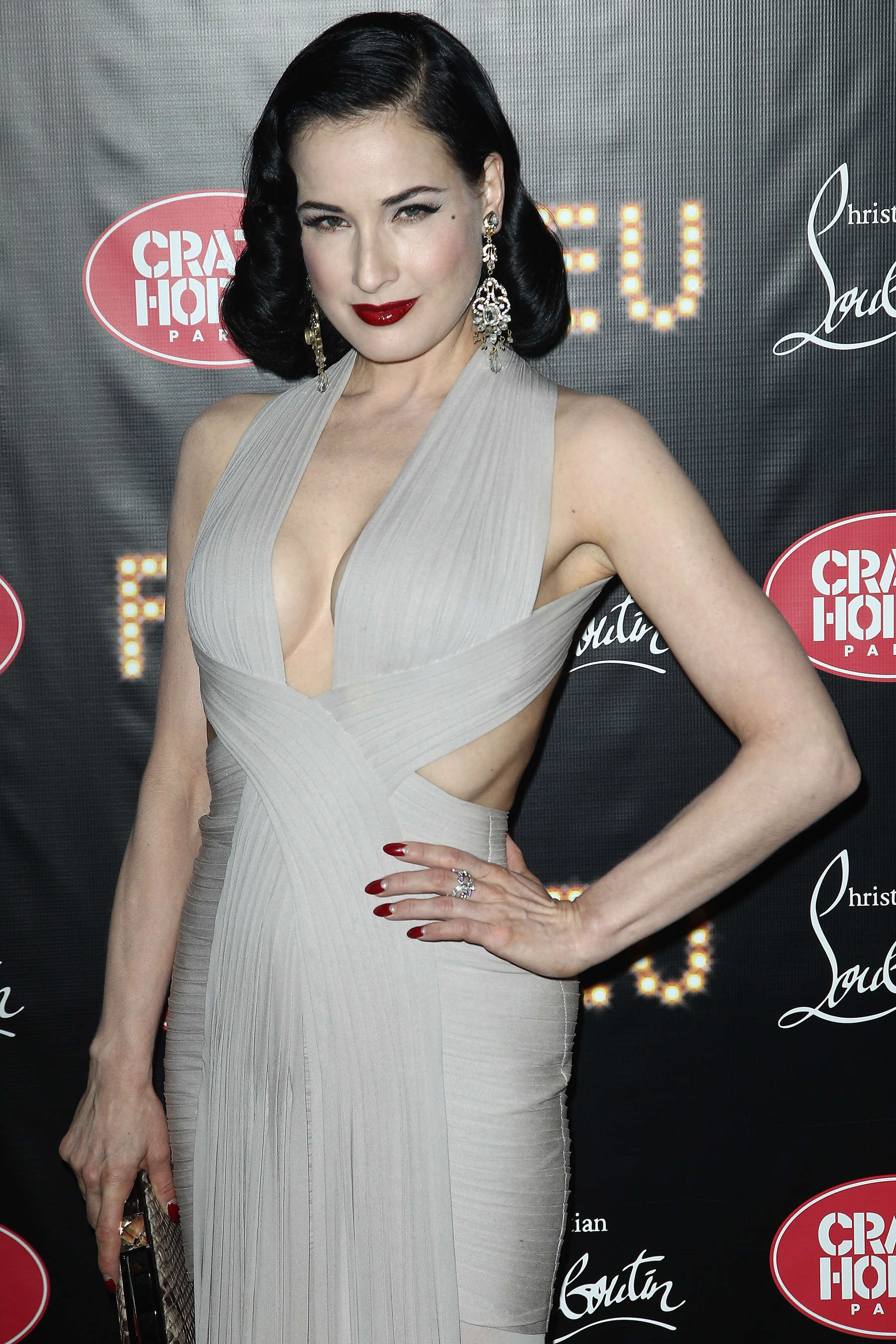 Dita Von Teese Hot At Feu Premiere 05 Gotceleb