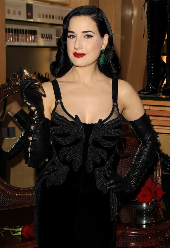 Dita Von Teese – Fragrance Launch in Los Angeles