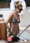 Doutzen Kroes at a pool in Miami -26