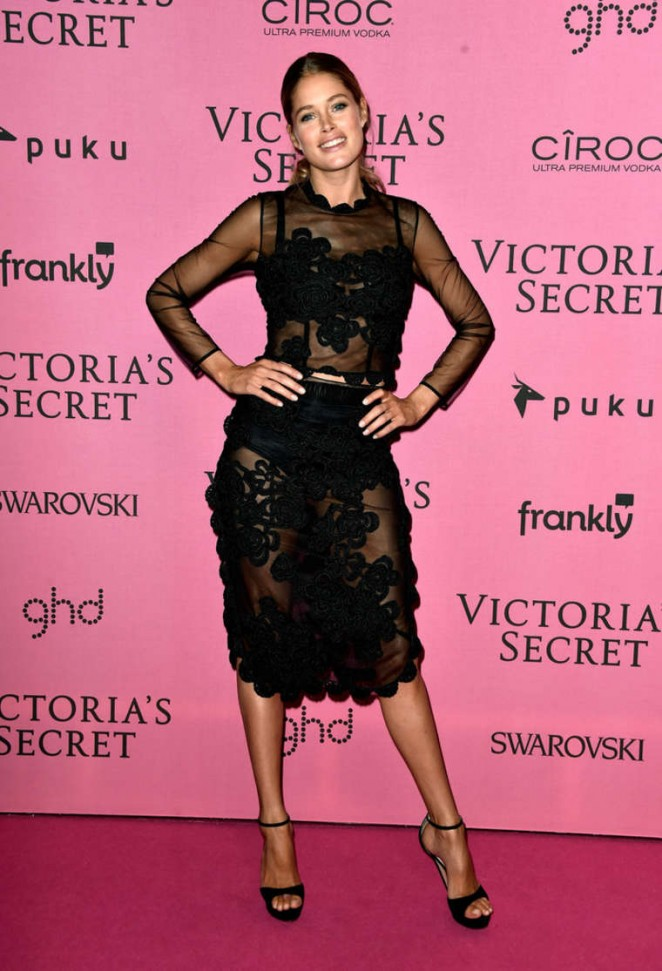 Doutzen Kroes – Victoria's Secret Fashion Show After Party in London