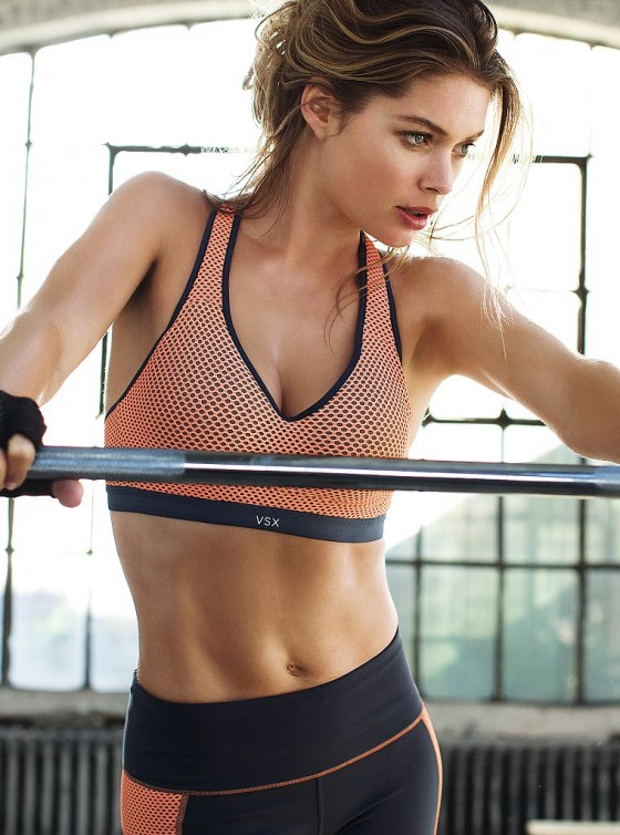 Doutzen Kroes: Victorias Secret Photoshoot -12