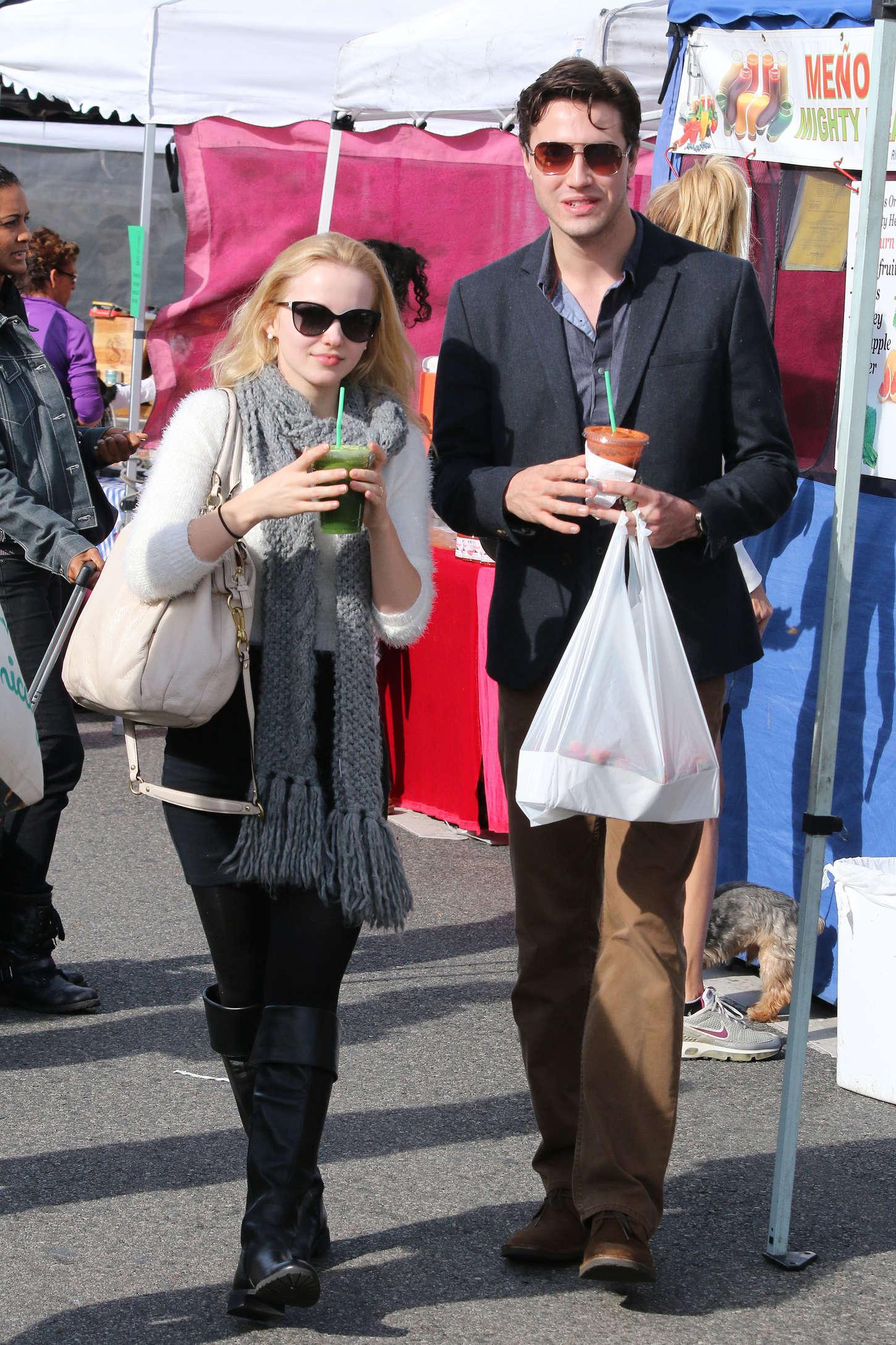 Dove Cameron 2014 : Dove Cameron at Farmers Market -09