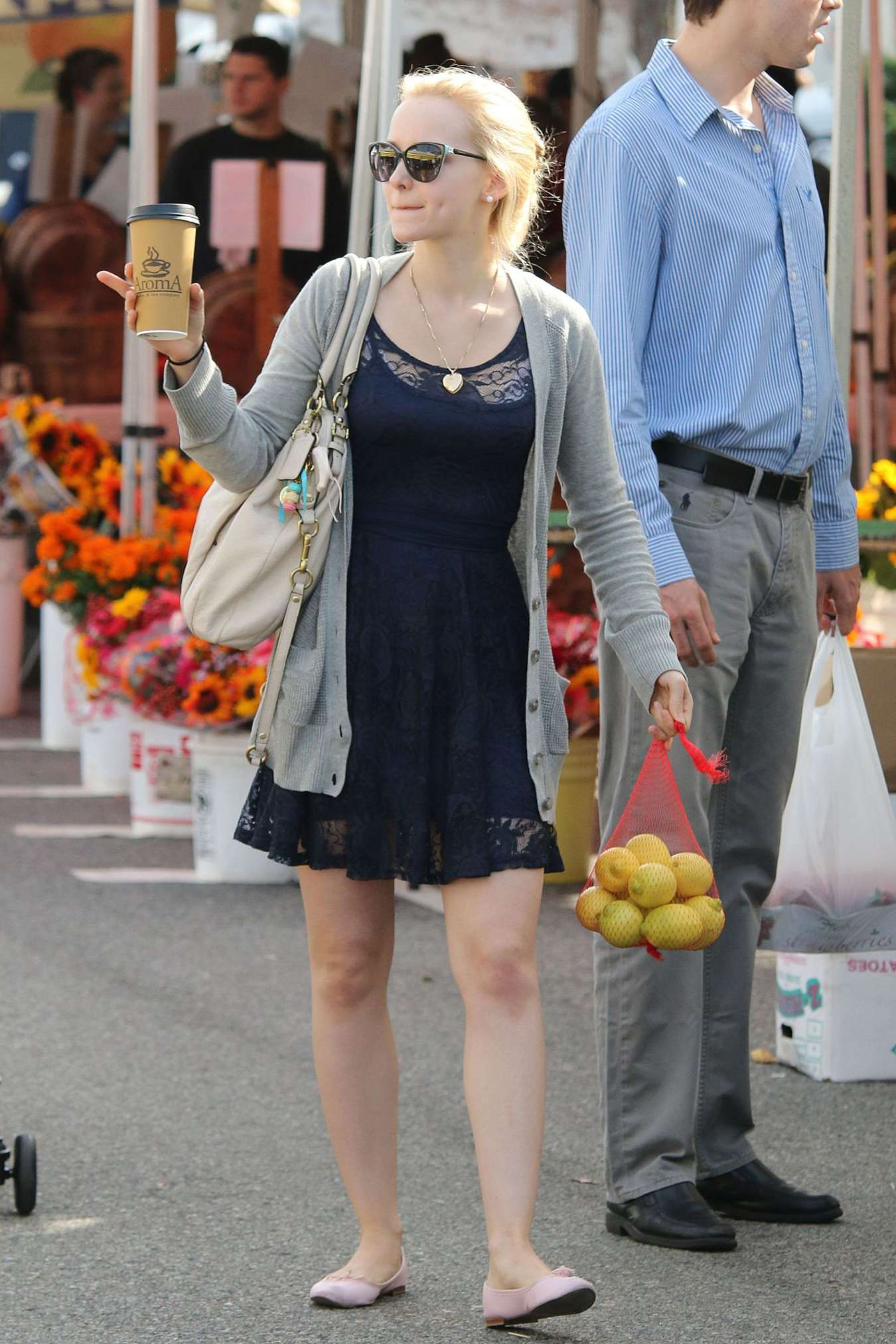 Dove Cameron 2014 : Dove Cameron in Mini Dress Shopping -04