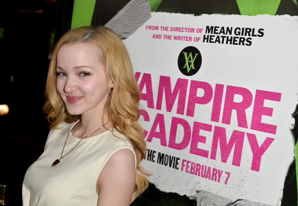 Dove Cameron 2014 : Dove Cameron: Vampire Academy Premiere -04