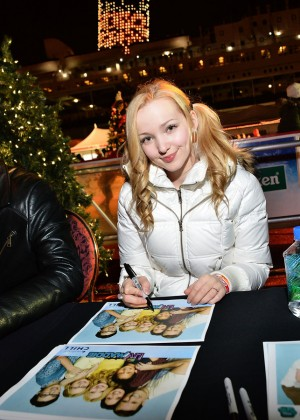 Dove Cameron - Visits The Queen Mary's CHILL in Long Beach