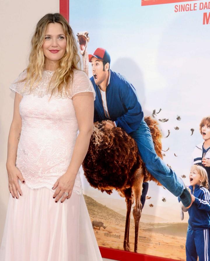 "Drew Barrymore – ""Blended"" Hollywood premiere"