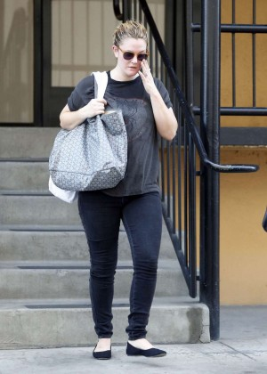 Drew Barrymore in Tight Jeans out in Studio City