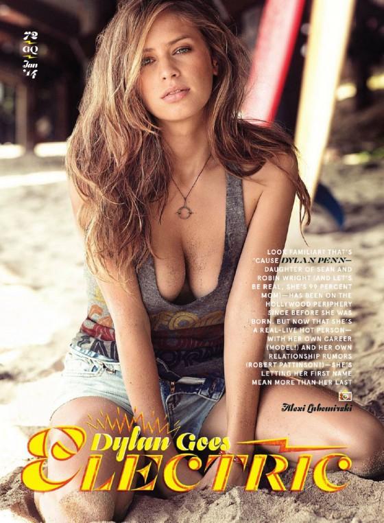 Dylan Penn: GQ Magazine -03