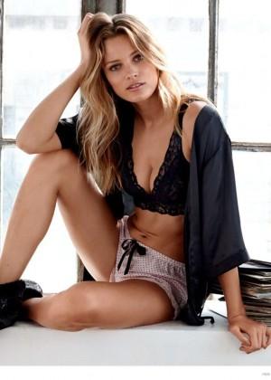 Edita Vilkeviciute - H&M Sleepwear Campaign 2014