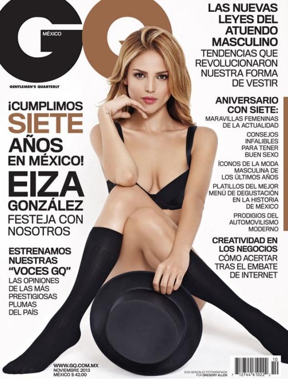 Eiza Gonzalez: GQ Cover -01