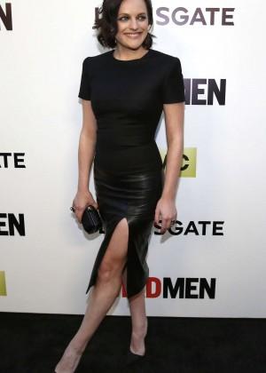 Elisabeth Moss: Mad Men Season 7 Premiere -02