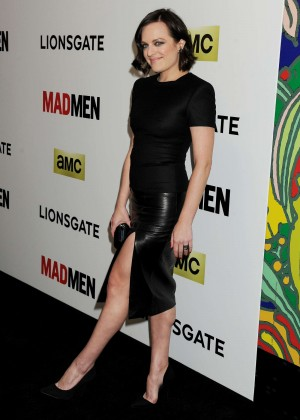 Elisabeth Moss: Mad Men Season 7 Premiere -03