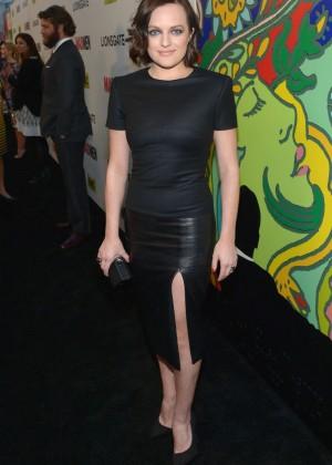 Elisabeth Moss: Mad Men Season 7 Premiere -10