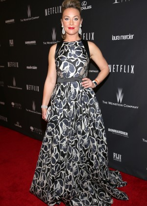 Elisabeth Rohm: 2014 The Weinstein Company and Netflix GG after party -01