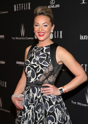 Elisabeth Rohm: 2014 The Weinstein Company and Netflix GG after party -02