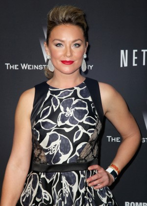 Elisabeth Rohm: 2014 The Weinstein Company and Netflix GG after party -03
