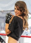 Elisabetta Canalis - Krav Maga expert photoshoot-09