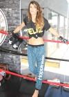 Elisabetta Canalis - Krav Maga expert photoshoot-11