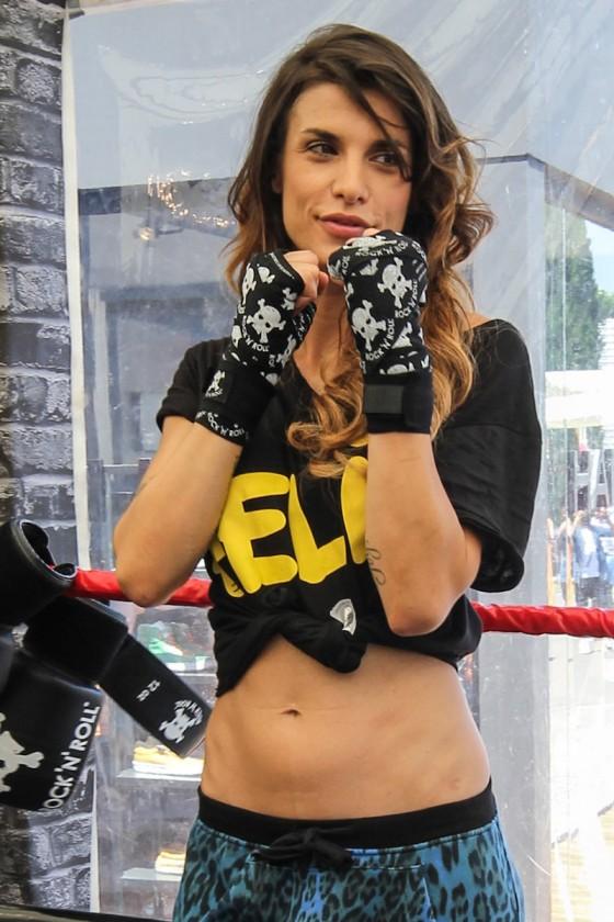Elisabetta Canalis - Krav Maga expert photoshoot-15