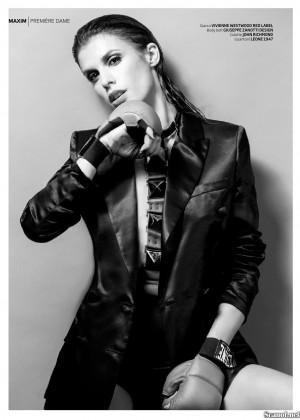 Elisabetta Canalis: Maxim Magazine -04
