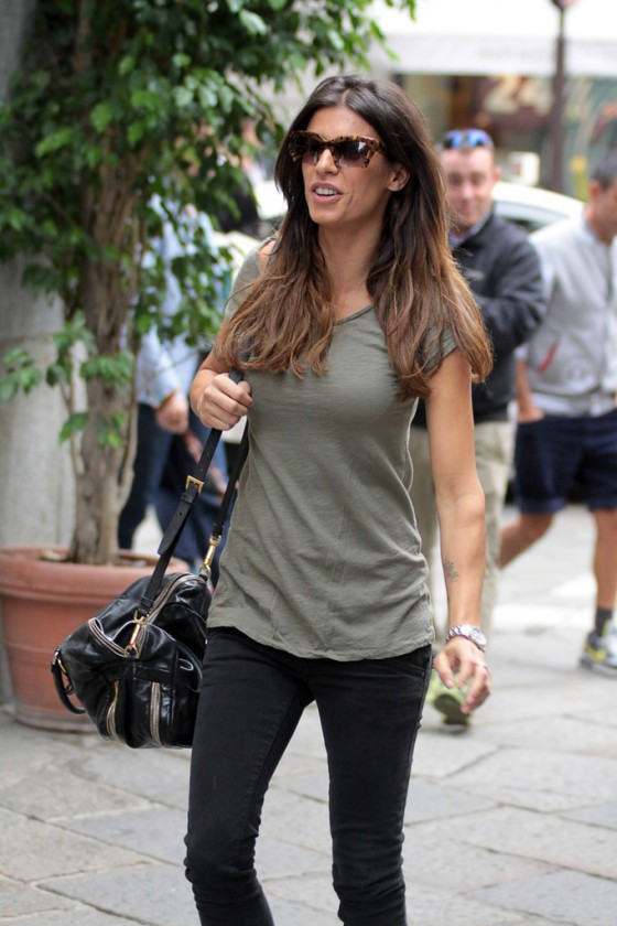 Elisabetta Canalis – Out and About in Milan