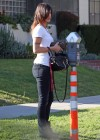 Elisabetta Canalis - Taking her dogs to the pet hospital -04