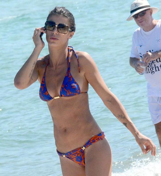 Elisabetta Canalis Bikini: 2013 Porto Cervo Italy -01