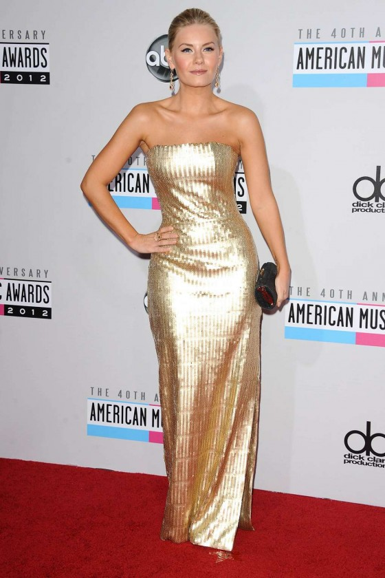 Elisha Cuthbert - 2012 American Music Awards in Los Angeles