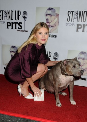 Elisha Cuthbert - 4th annual 'Stand Up For The Pits' Event in West Hollywood