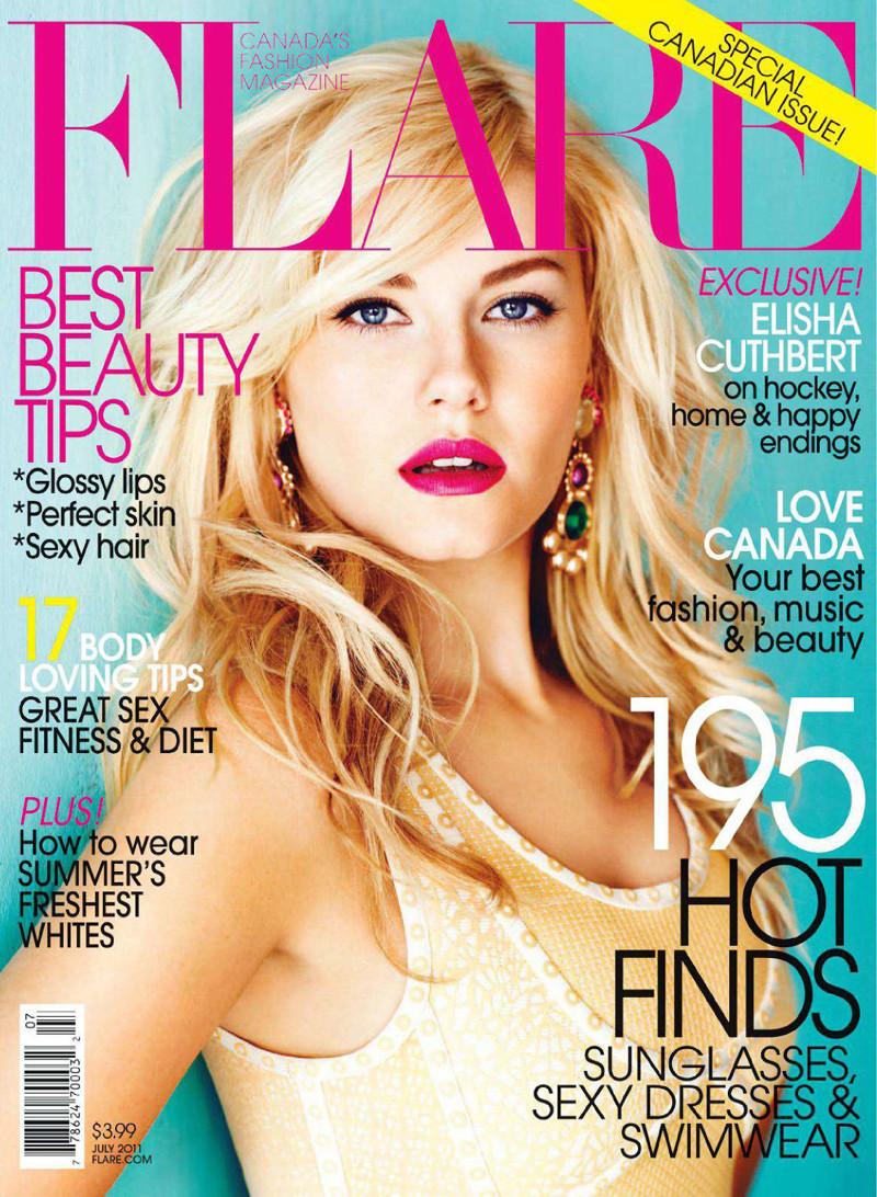 Elisha Cuthbert Flare Canada Magazine Cover-05