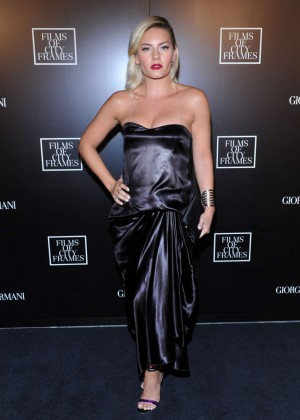 Elisha Cuthbert - Giorgio Armani Presents 'Films Of City Frames' in Toronto
