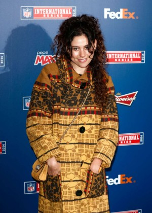 Eliza Doolittle - Arrives for Cowboys/Jaguars NFL Game at Wembley Stadium in London