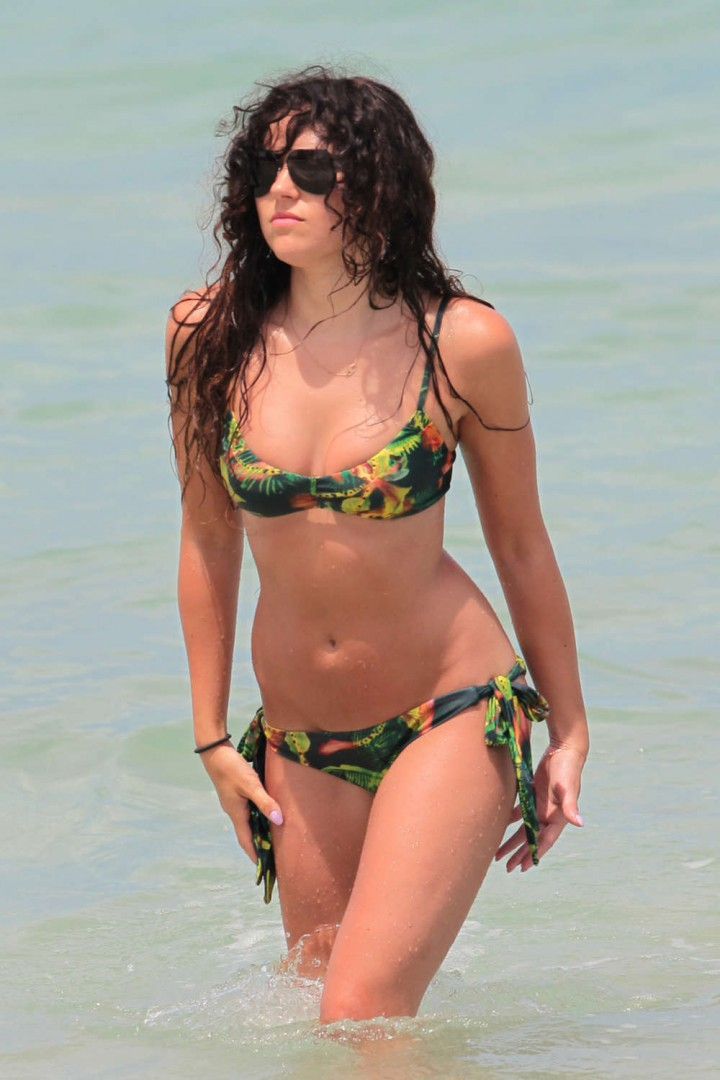 Eliza Doolittle Bikini: 2014 in Miami -11