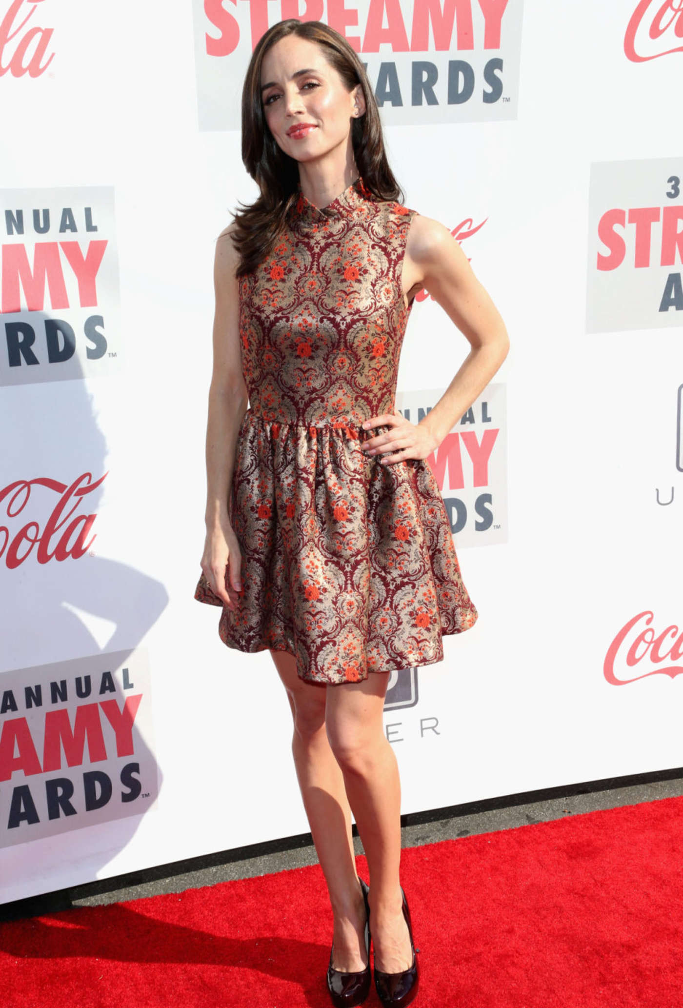 Eliza Dushku 2013 : Eliza Dushku – 2013 Streamy Awards -06