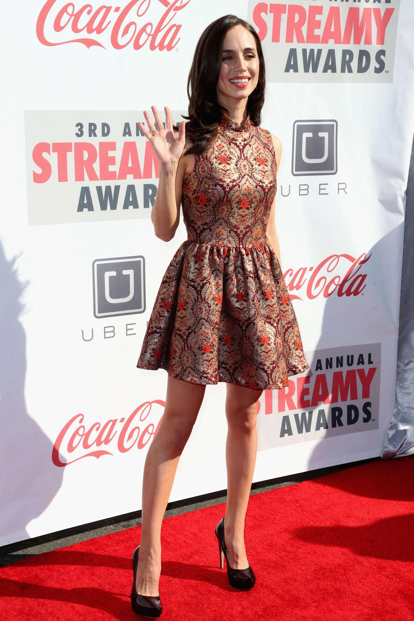 Eliza Dushku 2013 : Eliza Dushku – 2013 Streamy Awards -07