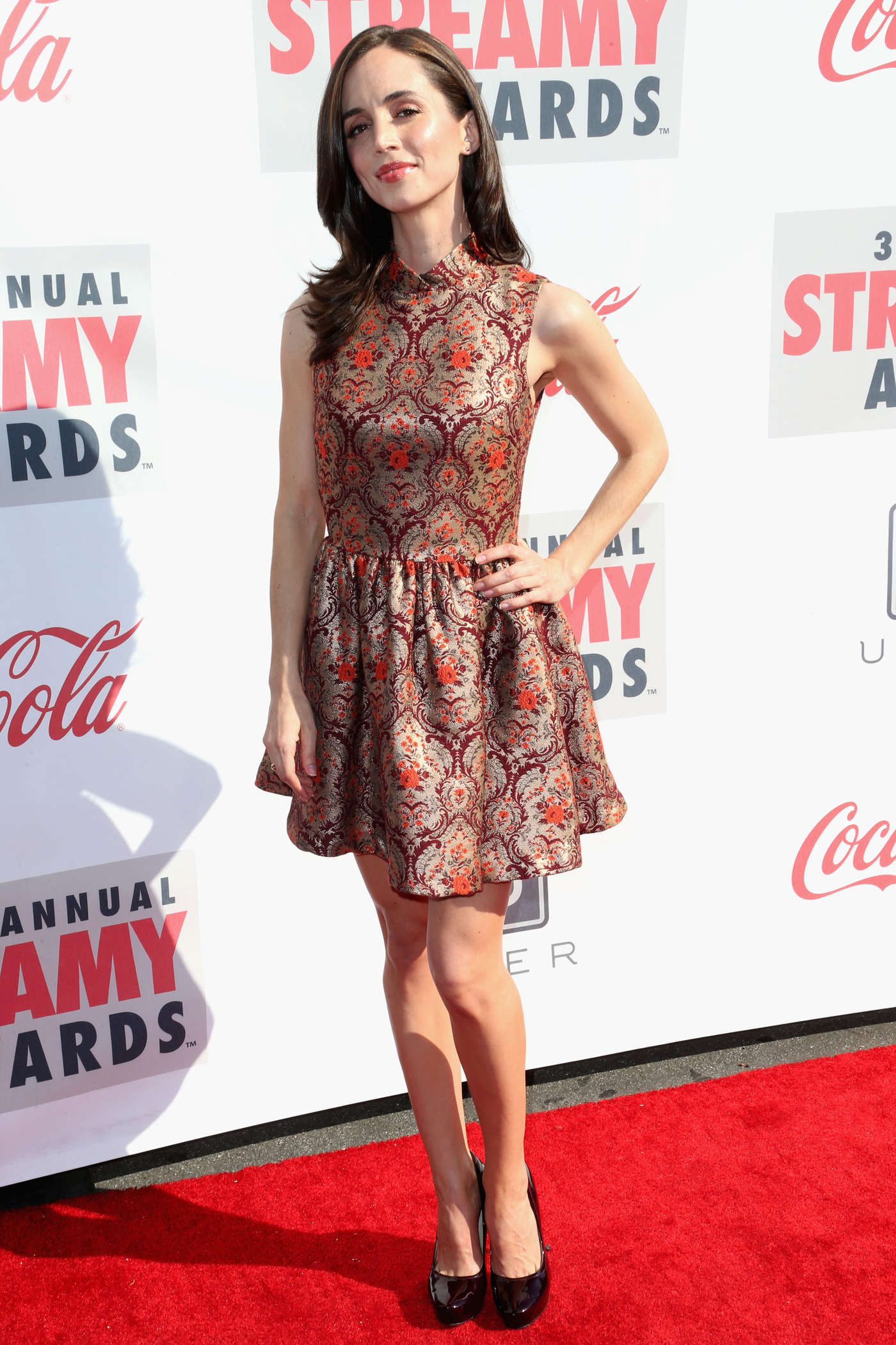 Eliza Dushku 2013 : Eliza Dushku – 2013 Streamy Awards -11