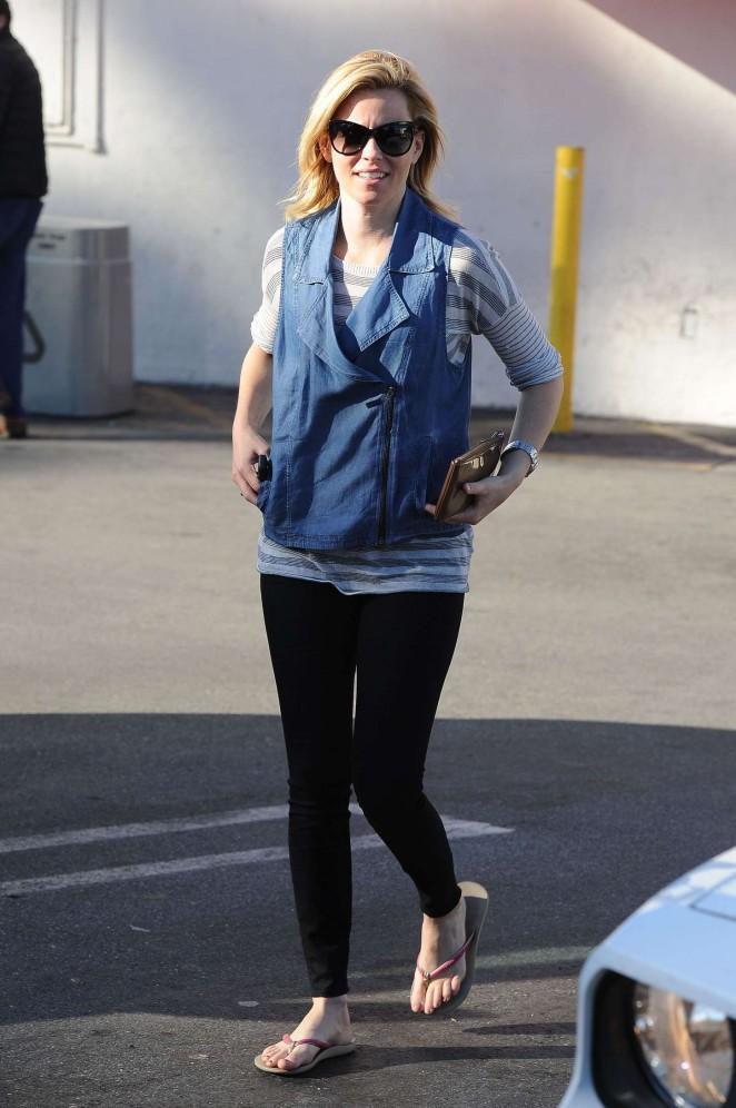 Elizabeth Banks in Spandex out in LA